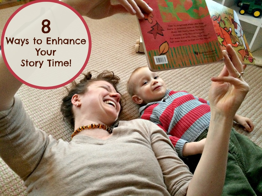 ways to enhance story time