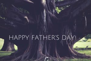 tree, happy father's day