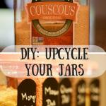DIY: Upcycling Your Jars
