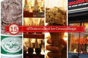 15 of Boston's Best Ice Cream Shops