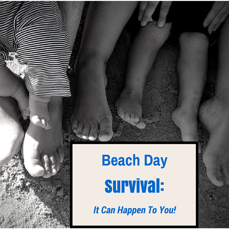 feet in the sand: beach day survival