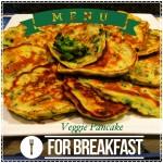 Healthy Breakfast: Veggie Pancakes