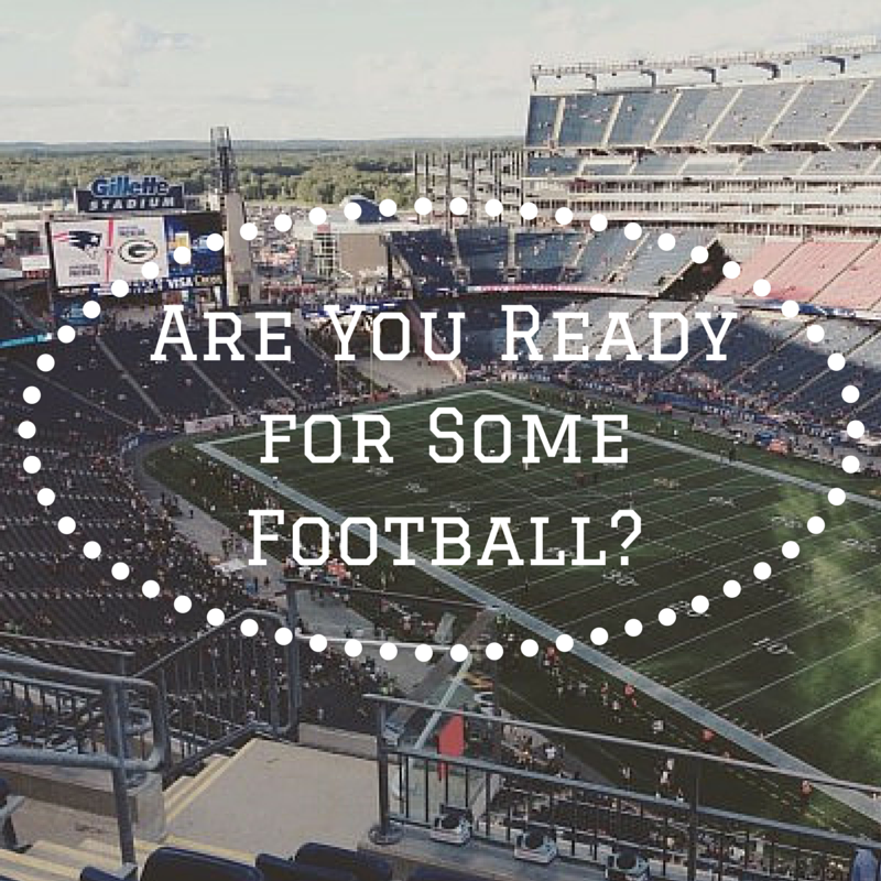 gillette stadium: are you ready for some football?