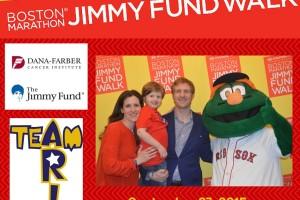 Jimmy Fund Walk/team Ari