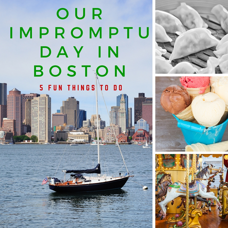 Our Impromptu Day in Boston