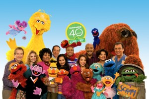 Photo: Muppets & Cast Photo, Sesame Street - Season 40 Anniversary Photo; photographed: Monday, February 24, 2009;  Noon at  Kaufman-Astoria Studios; Astoria, New York; Photograph: © 2009 Richard Termine. PHOTO CREDIT - Richard Termine