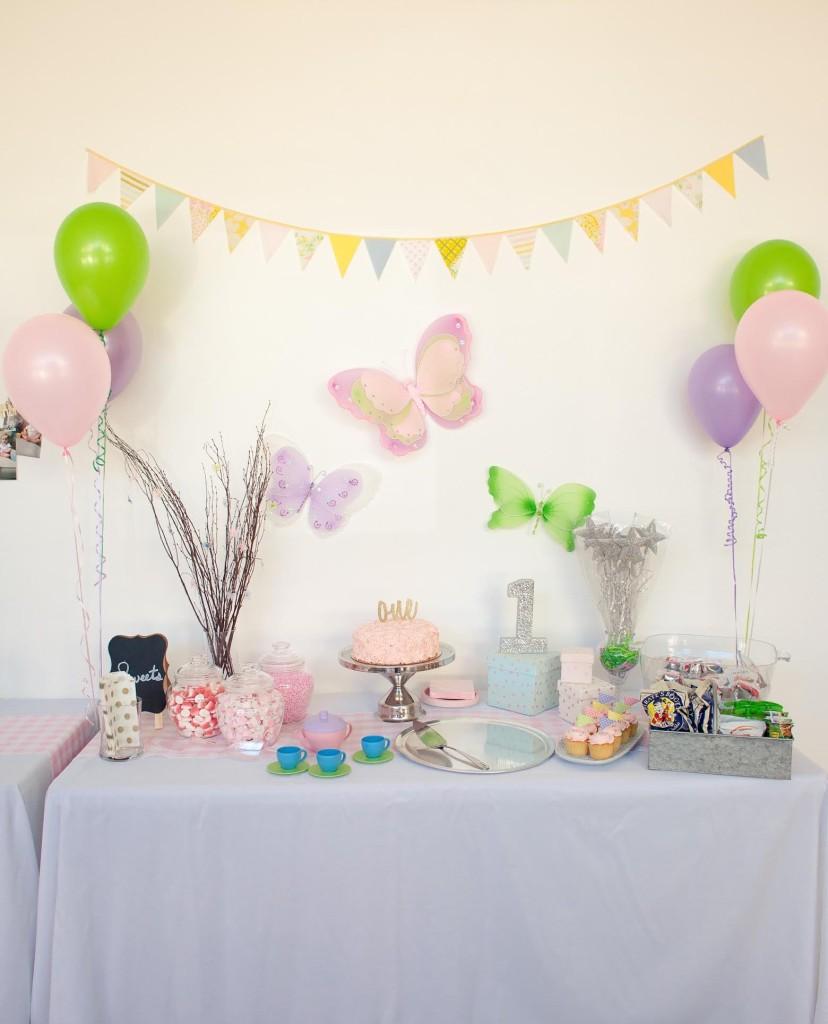 little lovage club fairy tea party set up
