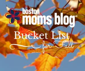 boston moms blog fall bucket list