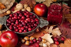 fall food cranberry