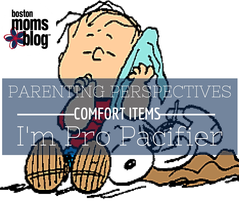 parenting perspectives: I'm pro pacifier