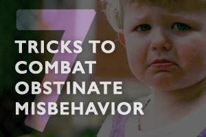 7 Tricks to combat obstinate misbehavior - Boston Moms Blog