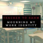 Mourning My Work Identity