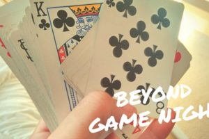 Beyond Game Night :: Ideas for Fun at Home With Friends - Boston Moms Blog