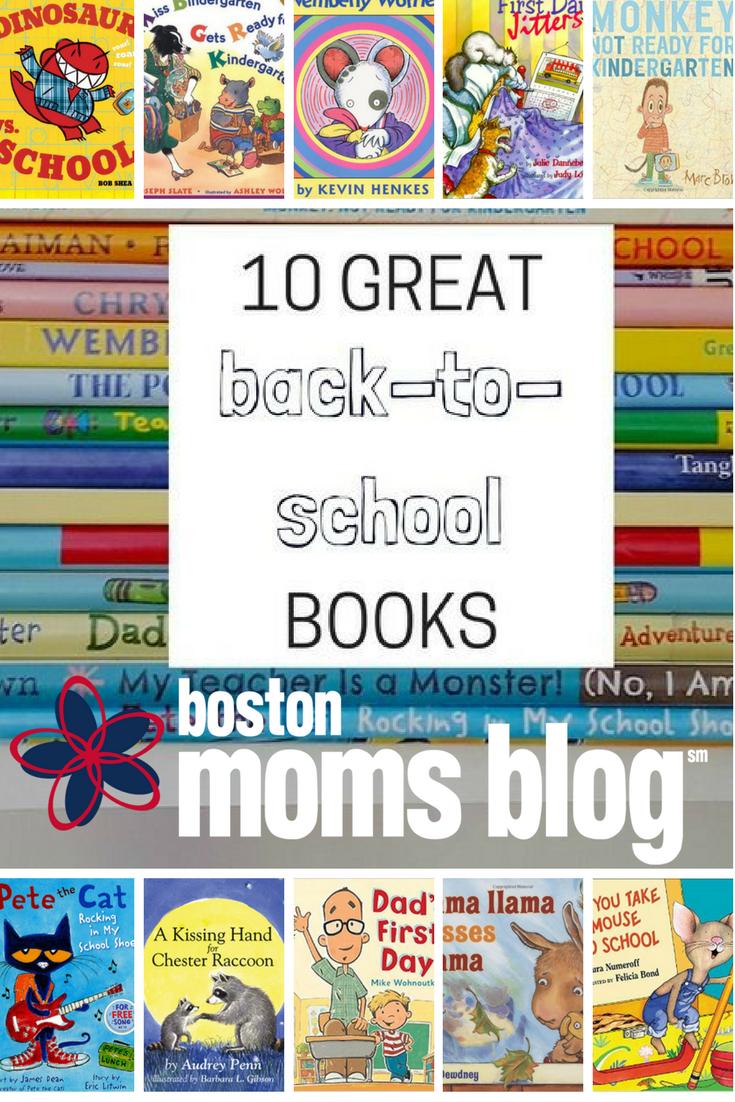 10 Great Back-to-School Books - Boston Moms Blog