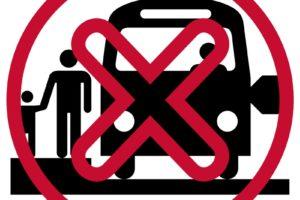 no bus