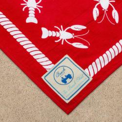 lobster beach sheet | Beach road designs