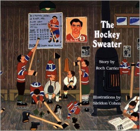 hockey sweater - Canadian children's books - Boston Moms Blog