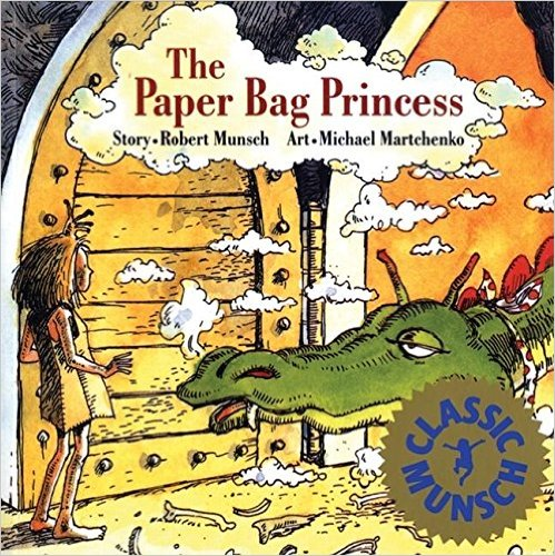 paper bag princess - canadian children's books - Boston Moms Blog