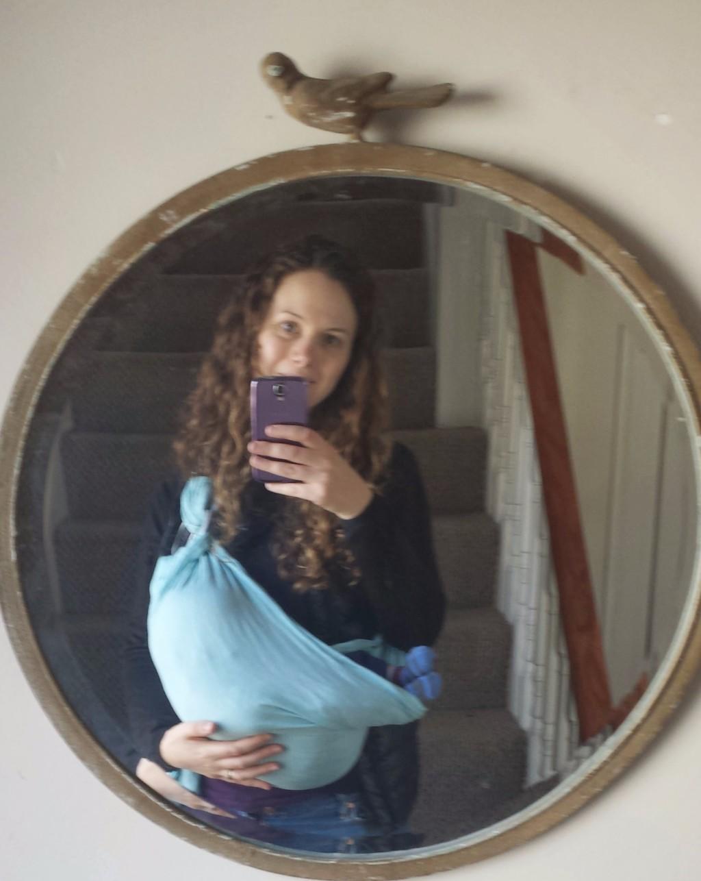 baby carrier - ring sling - Boston Moms Blog