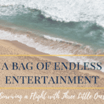A Bag of Endless Entertainment :: Surviving a Flight with Three Little Ones