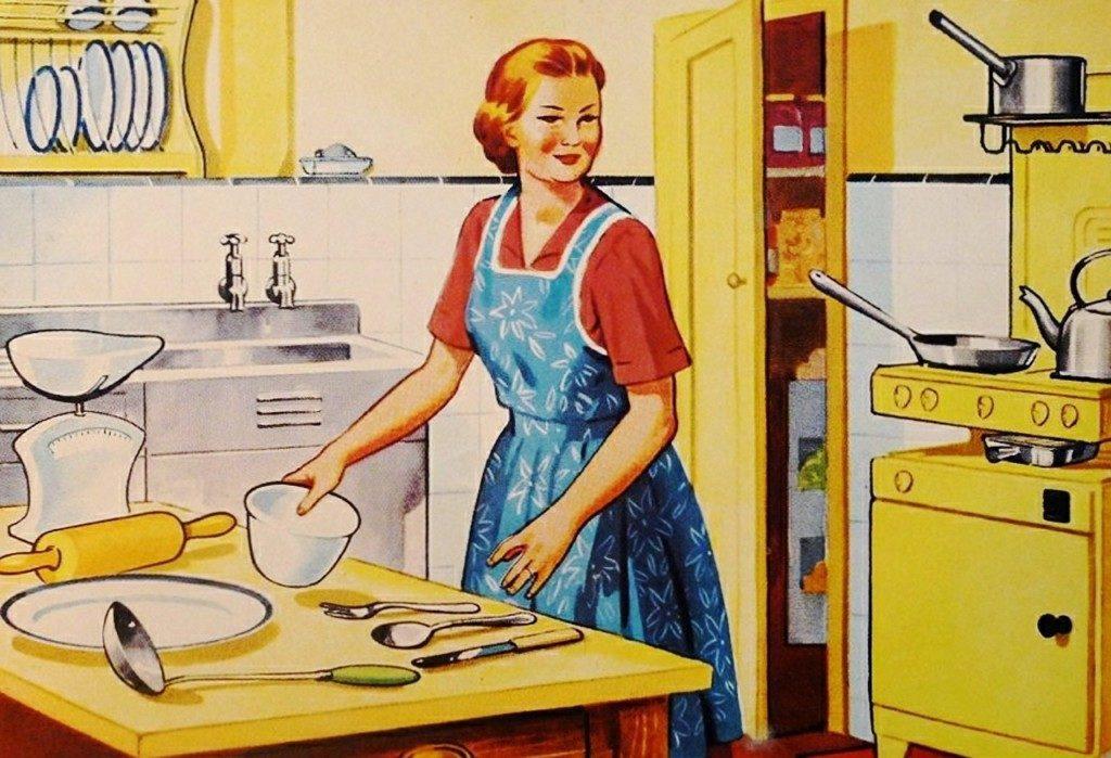 June Cleaver housewife - Boston Moms Blog