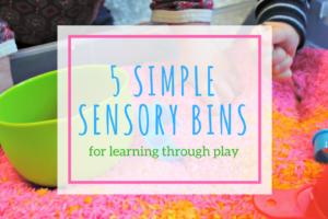 sensorybins