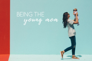 young mom