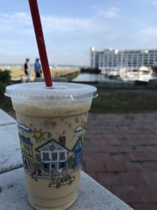 coffee in Salem MA's waterfront
