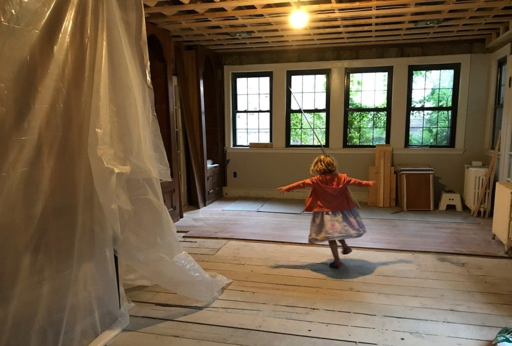 renovation with kids - Boston Moms Blog