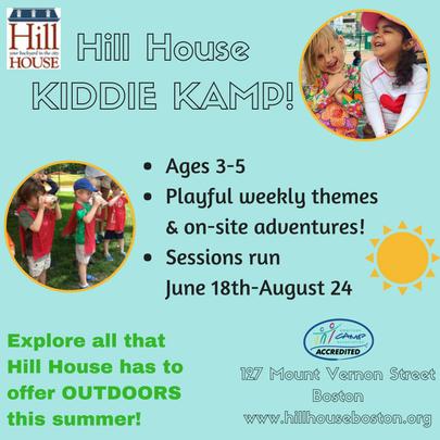 Hill House KIDDIE KAMP - boston moms blog camp guide