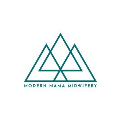 modern mama midwifery logo