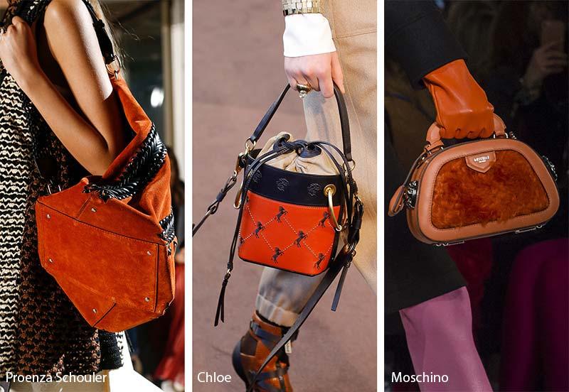 Designers Takes On Orange Bags The Runway