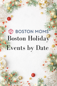 pin Boston Holiday Events by Date