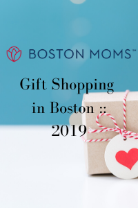 pin Gift Shopping in Boston __ 2019