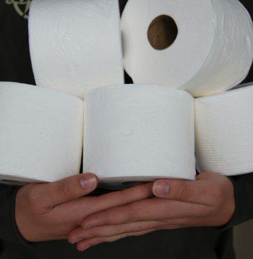 kindness not fear - toilet paper - Boston Moms