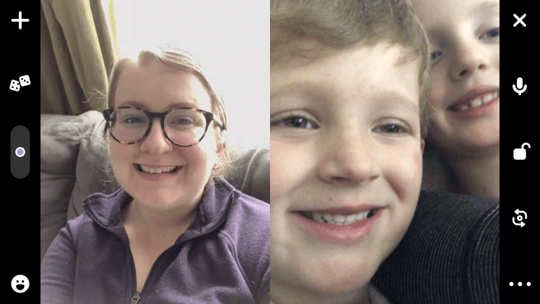 We're Physically Distant, but We Can Still Be Social :: A Boston Family's Experience with Houseparty