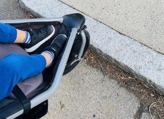 sidewalk running - Boston Moms