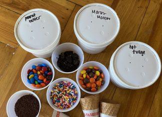 ice cream for dinner - Boston Moms