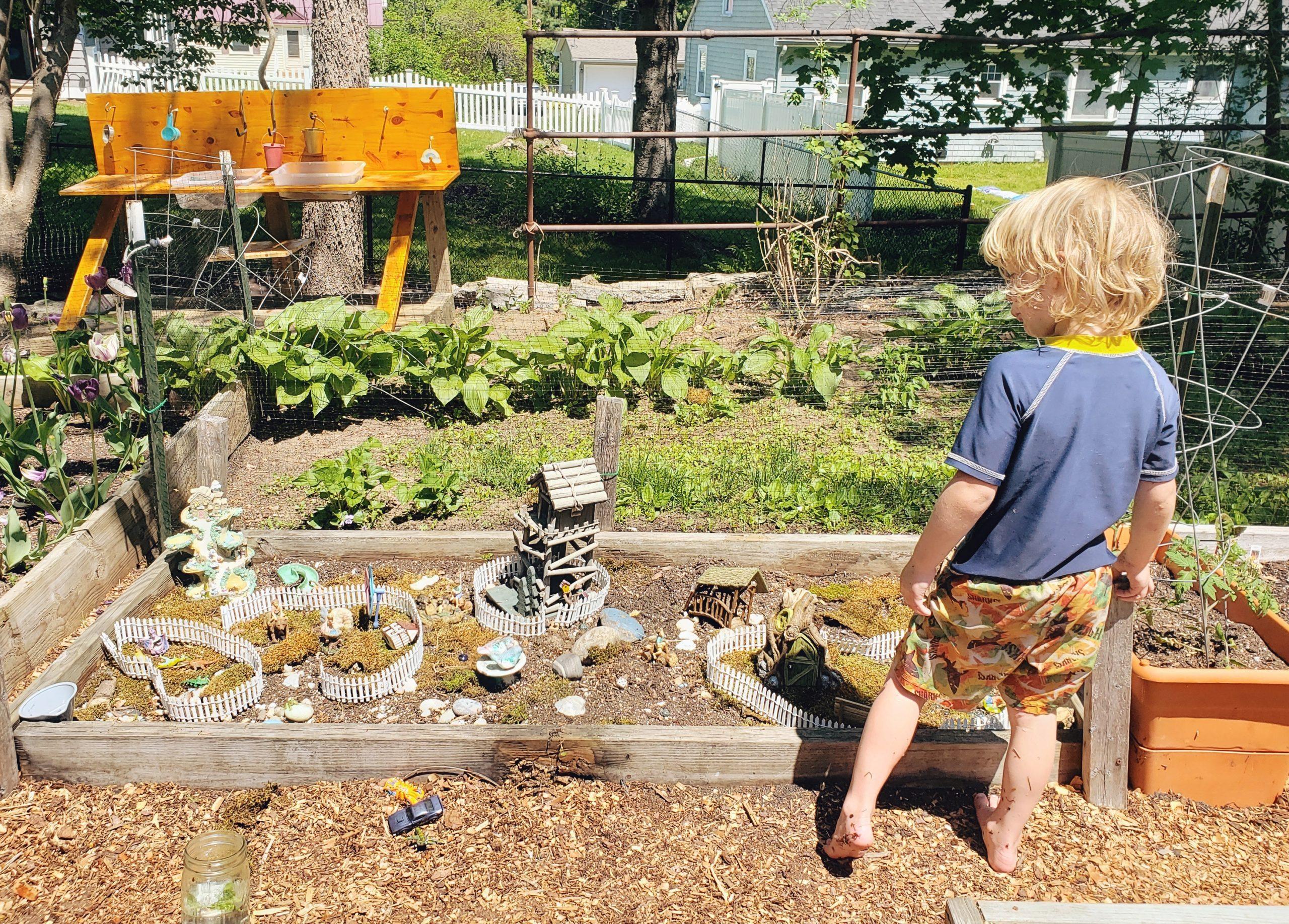 fairy garden gardening - Boston Moms