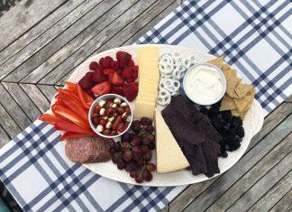 snack plate - Boston Moms