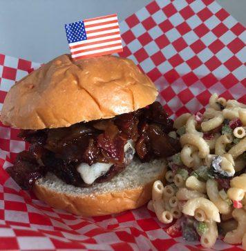 burgers with bacon onion jam - Boston Moms