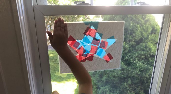 stained glass stars - Boston Moms