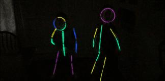 glow stick kids - Boston Moms