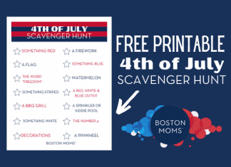 Fourth of July scavenger hunt - Boston Moms