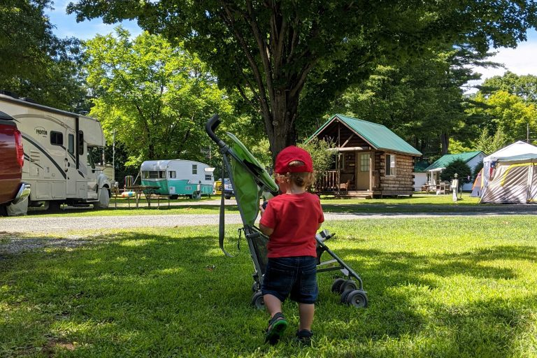Our Family Camping (and Working) Trip