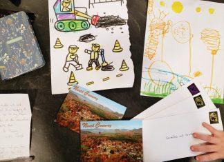 sending snail mail - Boston Moms