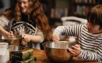 holiday baking pumpkin roll - Boston Moms