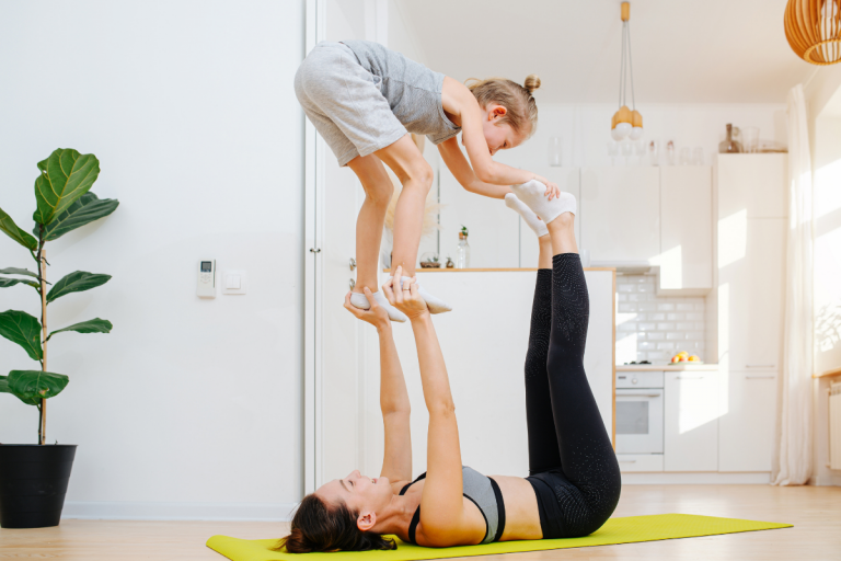 This Gymnast Mom Will Inspire Your 2021 Fitness Goals