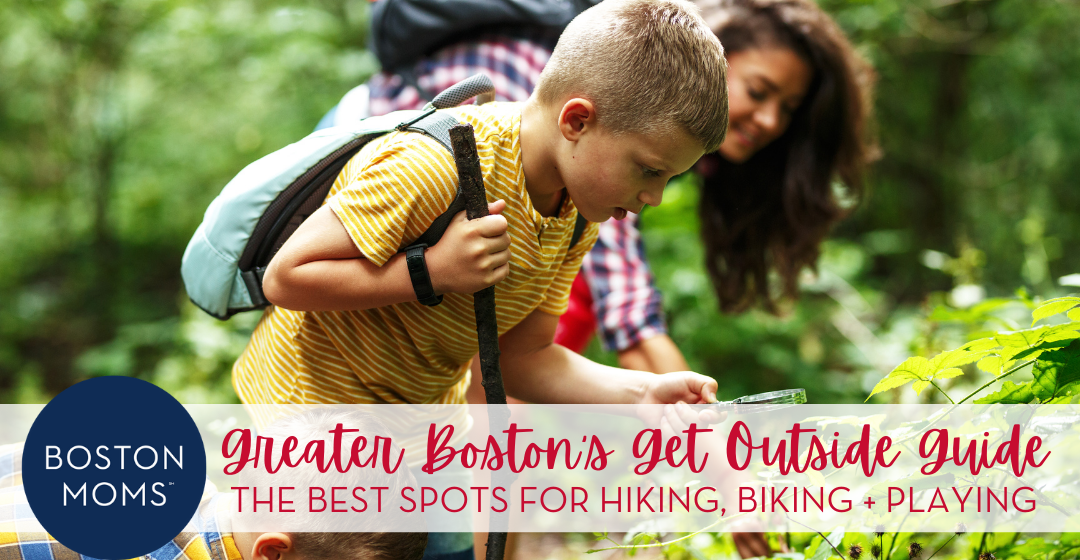 Boston Moms Guide to Getting Outside :: Our Favorite Places to Hike, Bike, and Play!