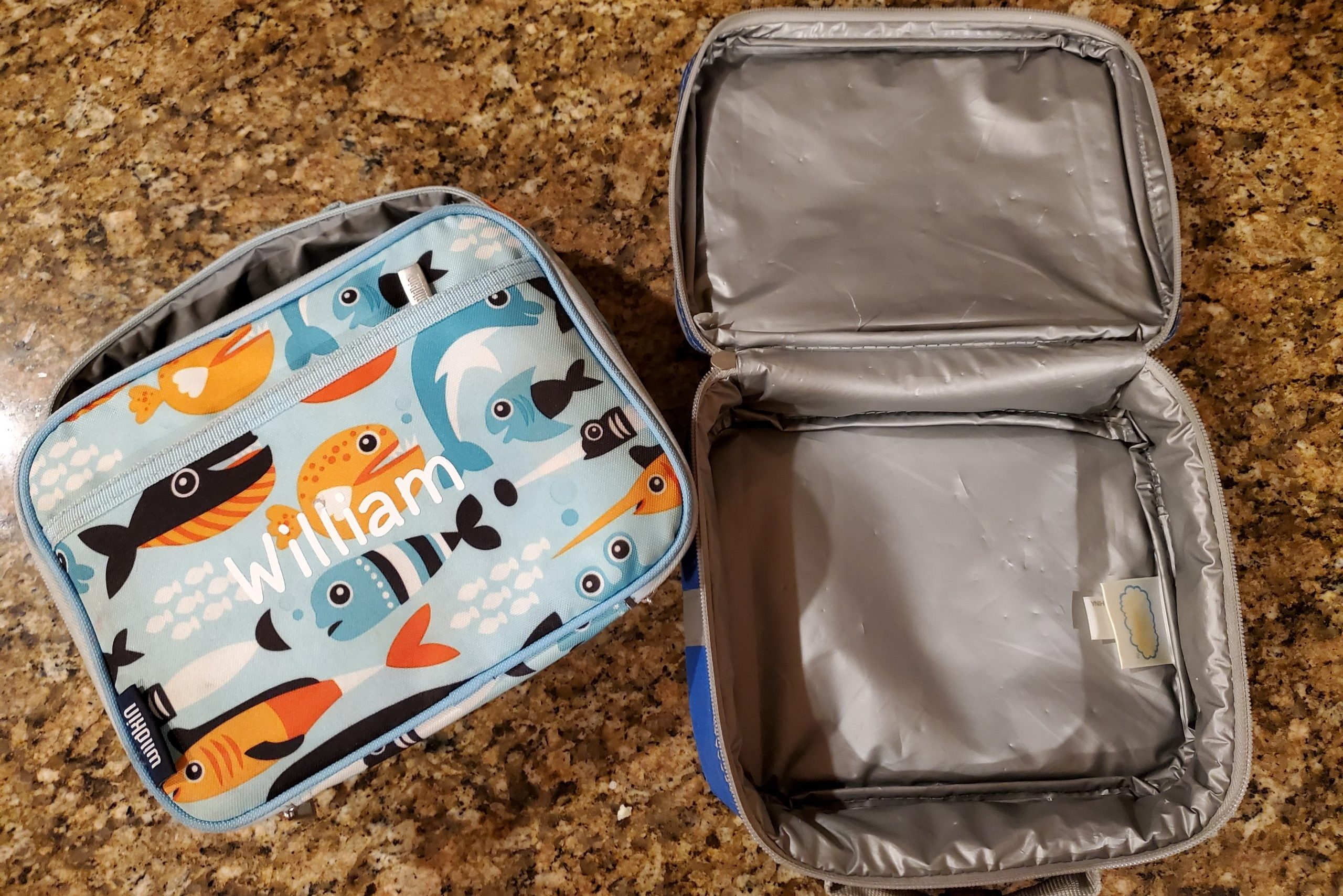 two lunch bags